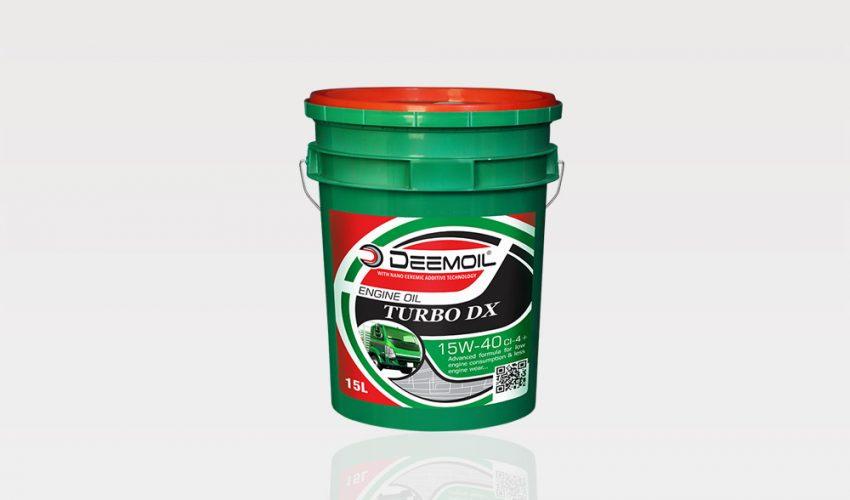 Turbo DX (Green) 15W-40 (CI-4+)